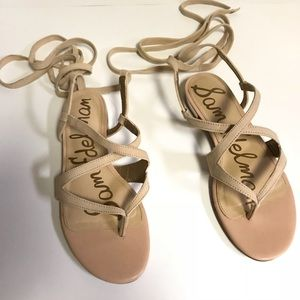 Sam Edelman Davina Lace-Up Sandals Size 9.5